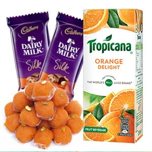 Tropicana Orange Juice Combo: 1st-birthday-gifts  Indore