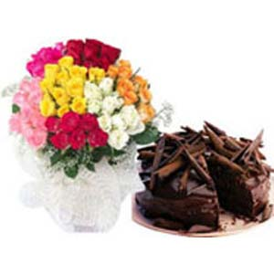 Mixed Roses Combo: Gifts Nandagar,  Indore