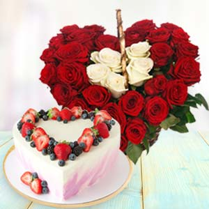 Heart Shaped Combo Gifts: Gift Kumarkhadi,  Indore