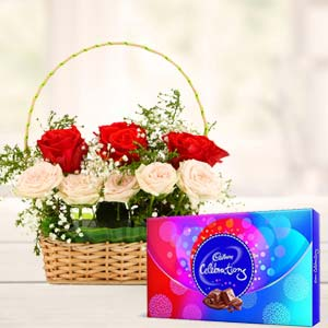 Roses Gift Combos: Gifts For Boyfriend Biyabani,  Indore