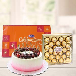 Regular Chocolate Combo Gifts: Birthday  Indore