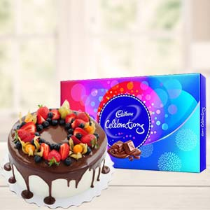Cake Gifts With Celebrations: Gifts For Boyfriend Biyabani,  Indore