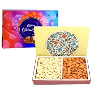 Dry Fruits With Celebration: Gifts For Him Indore Cantt,  Indore
