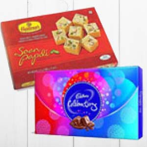 Haldiram With Chocolates: Gifts For Sister Collectorate,  Indore