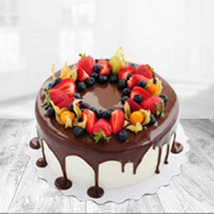 Chocolate Fruit Cake: Gift Army Head Quarter,  Indore