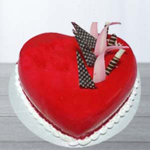 Red Velvert Cake: Valentine's Day Gifts For Girlfriend Malharganj,  Indore